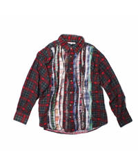 Rebuild by Needles:Ribbon Flannel Shirt  - M size #5