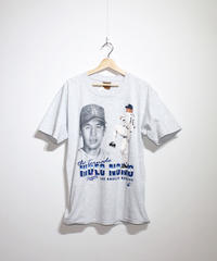 used:#16 HIDEO NOMO  LAD TEE - L size #27