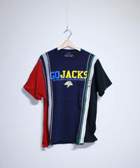 Rebuild by Needles:7 Cuts S/S Tee College WIDE #32