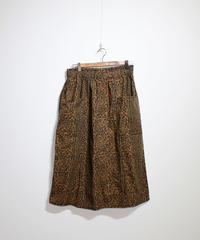 South2 West8: Army String Skirt Flannel Pt - Leopard