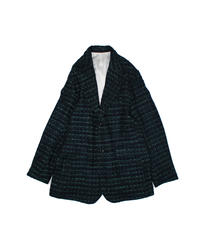 Needles : 2B JACKET  FANCY TWEED - Navy Green