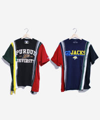 Rebuild by Needles:7 Cuts S/S Tee College WIDE Type #30 #32
