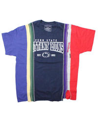 Rebuild by Needles 7 Cut Tee College Wide NAVY #1  - onesize