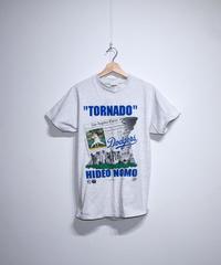 used:#16 HIDEO NOMO  LAD TEE - M size #29
