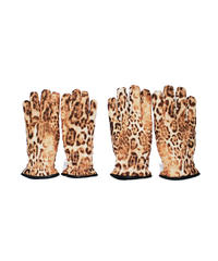 INFIELDER DESIGN:LEOPARD NYLON GLOVES