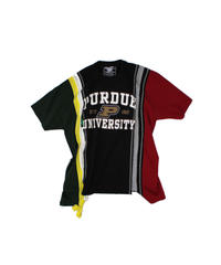 Rebuild by Needles:7 Cuts S/S Tee College WIDE - onesize #30