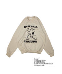 TAMANIWA: Base Ball SWEAT (SNOOPY)