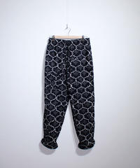 INDIA FLAG :BATIK DRAWSTRING PANTS - D GREY