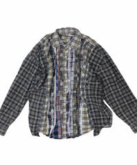 Rebuild by Needles Ribbon Flannel Shirt wide - onesize #12