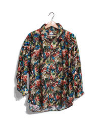 AiE :PAINTER SHIRT - Feather Print