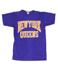 COPY CAT   -コピーキャット-  OLD SHORT SLEEVE TEE -NEWYORK QUEENS-BLUE