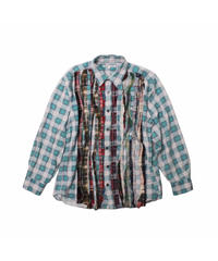 Rebuild by Needle:Ribbon Flannel Shirt - M size #2