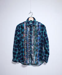 Rebuild by Needles:Ribbon Flannel Shirt - M size #45