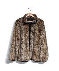 Needles Sportwear:W.U. Piping Jacket Faux Fur - M size