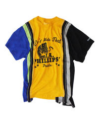 Rebuild by Needles 7 Cut Tee College #17 yellow - size M