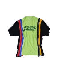 Rebuild by Needles:7 Cut Tee College #15 Lt.green - size M