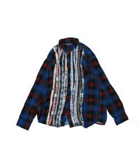 Rebuild by Needles:Ribbon Flannel Shirt - M size #43