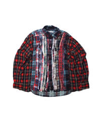 Rebuild by Needles:Ribbon Flannel Shirt - onesize #11