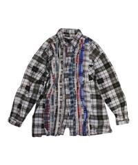 Rebuild by Needles:Ribbon Flannel Shirt - M size #34