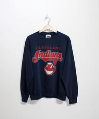 used:Cleveland Indians long sleeve sweat