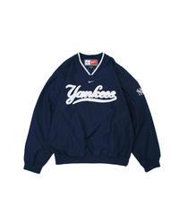 used:nike New York Yankees nylon pullover - L size #3