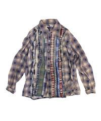 Rebuild by Needles:Ribbon Flannel Shirt  - M size #35
