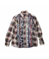 Rebuild by Needles Ribbon Flannel Shirt - M size #1