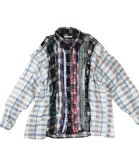 Rebuild by Needles Ribbon Flannel Shirt wide - onesize #11