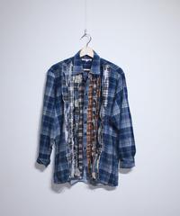 Rebuild by Needles:Ribbon Flannel Shirt - S size #39