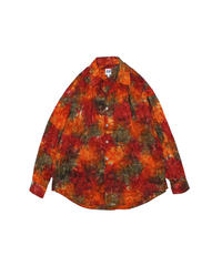 AiE : PAINTER SHIRT - ABSTRACT BATIK - ORANGE