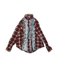 Rebuild by Needles:Ribbon Flannel Shirt - M size #40
