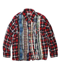 Rebuild by Needles Ribbon Flannel Shirt   RED ③  - M size