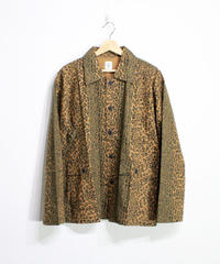 South2 West8:21FW HUNTING SHIRT FLANNEL PT.  - LEOPARD