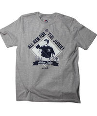 Majestic NYY Aaron Judge TEE  #99 ①