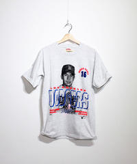 used:#16 HIDEO NOMO  LAD TEE - L size #26