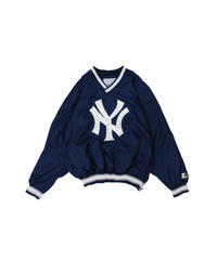 used:New York Yankees nylon pullover - XL size #1