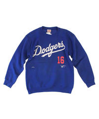 used:Los Angeles Dodgers #16 HIDEO NOMO long sleeve sweat - size M #2