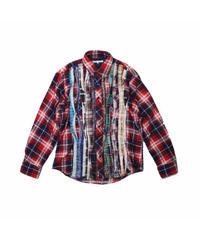 Rebuild by Needles:Ribbon Flannel Shirt - M size #4