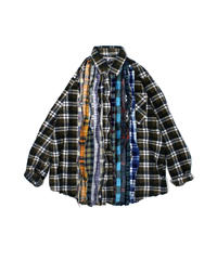 Rebuild by Needles:Ribbon Flannel Shirt - M size #47