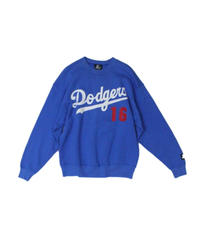 used:Los Angeles Dodgers #16 HIDEO NOMO used long sleeve sweat - STARTER #4