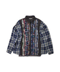 Rebuild by Needles:Ribbon Flannel Shirt - onesize #10