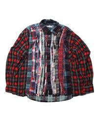 Rebuild by Needles  Ribbon Flannel Shirt - onesize ③