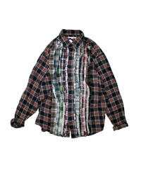 Rebuild by Needles:Ribbon Flannel Shirt - L size #52