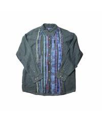 Rebuild By Needles:Ribbon Flannel Shirt - size M #8