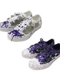 Needles - Asymmetric Ghillie Sneaker - paint