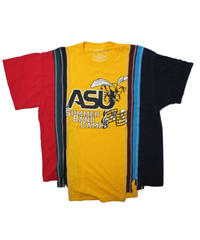 Rebuild by Needles 7 Cut Tee College Wide YELLOW #3 - onesize