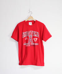 majestic:Los Angeles Angels #17 OHTANI SHOTIME TEE