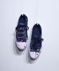 Needles:Asymmetric Ghillie Sneaker - Over Dye Paint