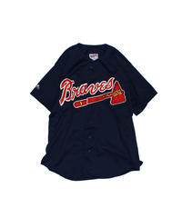 used:Majestic Atlanta Braves Jersey -  L size