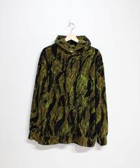 Needles Sportwear:Warm-Up Hoody - Tiger Camomo Stripe